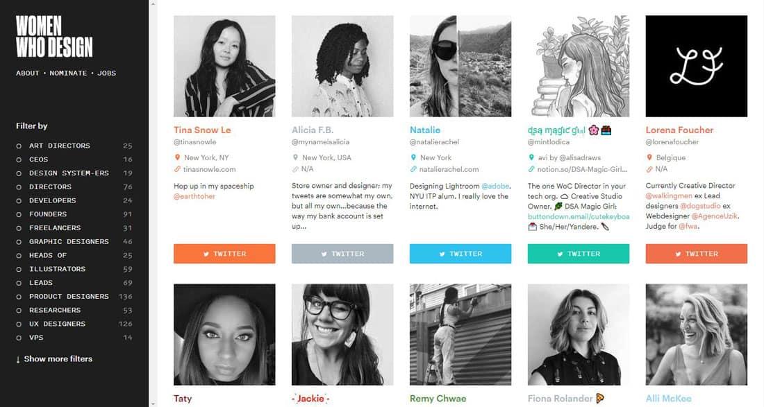 women designers