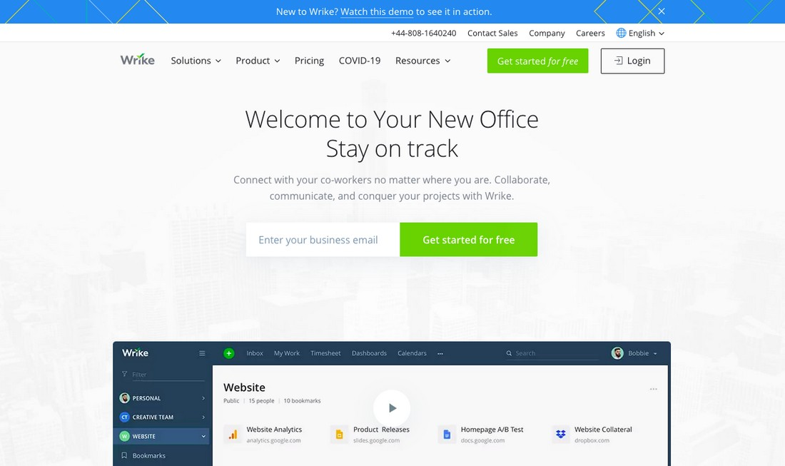 wrike-1 Best Project Management Software for Creatives 2020 design tips