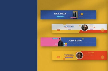 20+ Best YouTube Cover Art & Banner Templates (Free & Pro)