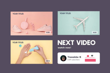 15+ Best YouTube End Screen Templates for 2022