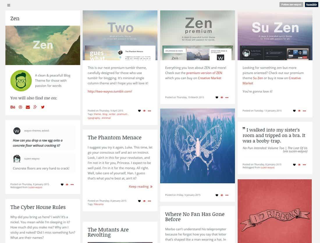 zen-free-tumblr-theme