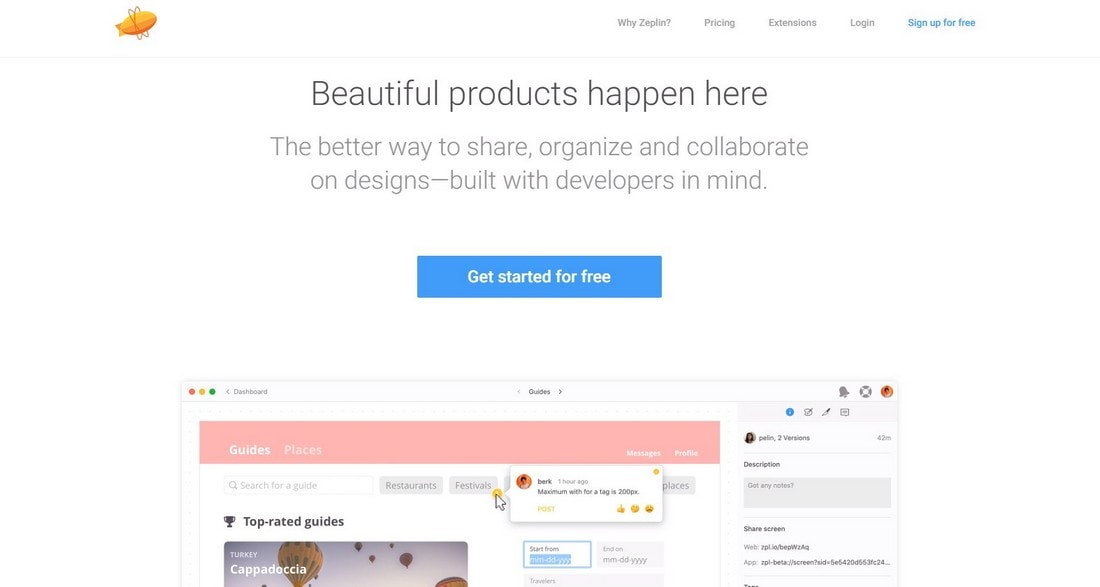 zeplin 10 Best Prototyping Tools for Designers 2020 design tips  Software