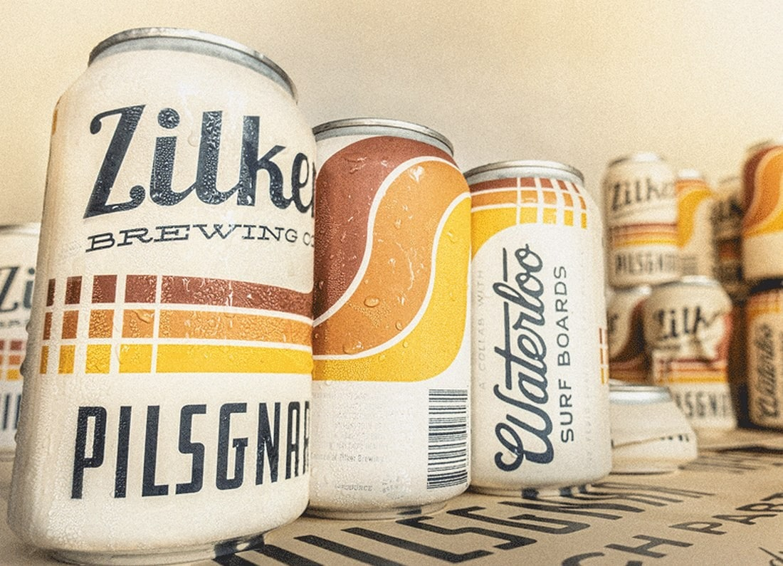 zilker-brewing-label 7 New & Modern Color Trends 2021 design tips